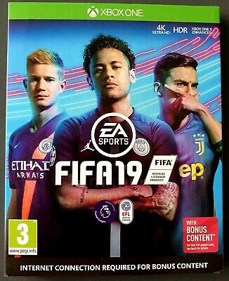 Fifa 19 (Xbox One) With Bonus Content Brand New and Sealed UK PAL XBOXONE GAME