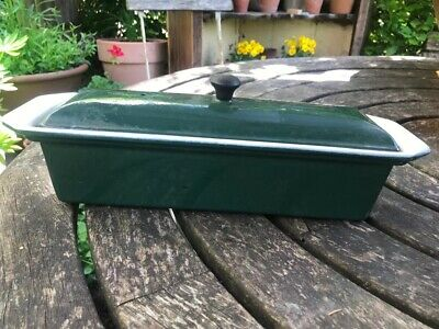 Chasseur Cast Iron Lidded Pate/Terrine/ Loaf Dish - Green