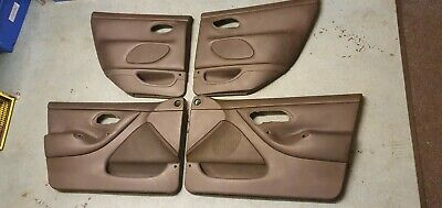 Ford Mondeo Mk2 St200 St24 Black Leather Full Set Of 4 Door Cards Interior