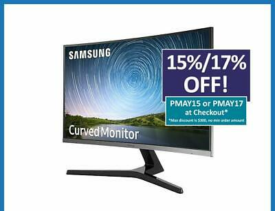Samsung 27'' FHD VA LED LCD Freesync Curved Gaming Monitor Bezel-less HDMI VGA