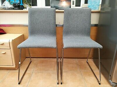 Miraculous 6 Dining Chairs Ikea Volfgang Chrome Plated Bomstad Black Dailytribune Chair Design For Home Dailytribuneorg