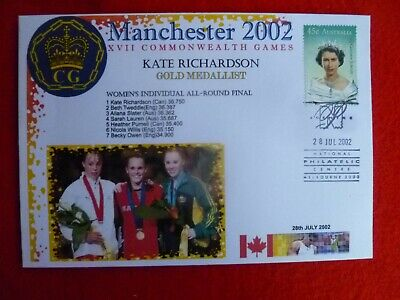 2002 Manchester Commonwealth Games A Gold Medal Gymnastics  All Around Womens