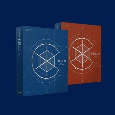 CIX - [Hello Chapter 2.Hello,Strange Place] 2nd EP CD+Poster+PhotoBook+Card+etc