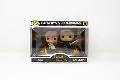 Funko Pop Game of Thrones Daenerys and Jorah with Swords Movie Moment | IN STOCK