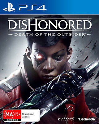 Dishonored Death of the Outsider PS4 Game NEW