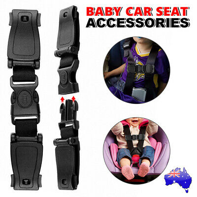 Car Baby Safety Seat Belt Strap Clip Harness Buckle Child Toddler Lock Chest