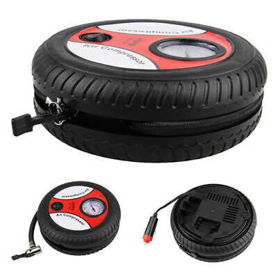 12V Car Pump 260PSI Air Compressor Auto Portable Digital Electric Tyre Inflator