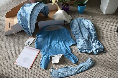 NEW Stokke Stroller Summer Kit - Bluebell Blue