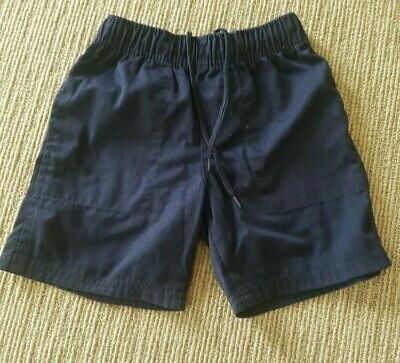 School zone navy blue school shorts, adjustable waist. size 6. New without tag.