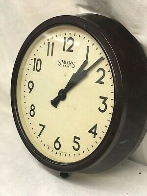 Large 1930's Bakelite Factory / Station / School Clock
