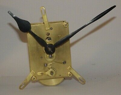 """8-Day 12"""" Wall Clock Movement - ***Not Working - For Spares Or Repair***"""