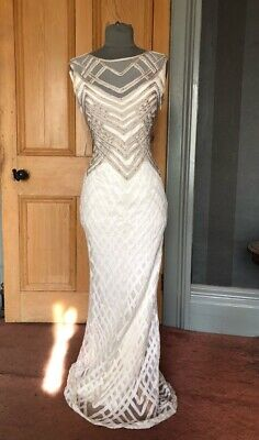 """Beautiful Collection 8 For Phase Eight """"Eydie"""" Long Evening Dress, Size 12"""