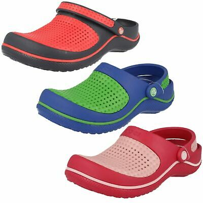Childrens Crocs Casual Slip On Synthetic Summer Sandals Crosmesh Clog Kids