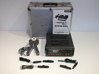 ELCONTROL MICROVIP 1.1 Energy Analyzer with Case & Accessories