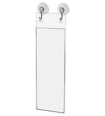 """Wall Mount 2""""W x 6""""H Photo Booth Strip Frame with Holes"""