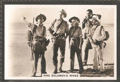 Illingworth-Shots From The Films-#02- King Solomons Mines