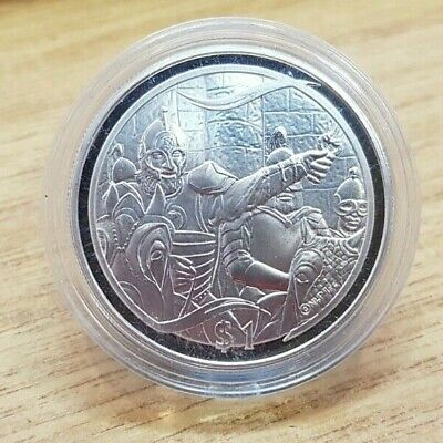 2003 New Zealand Lord of the Rings Theoden Rides 1 oz 925 Silver Proof $1