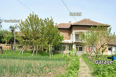 Two Level House in Rural Bulgaria Property Bulgarian home sale Detached Huge EU