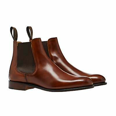 Cheaney Made In England Clara Womens Boots - Burnished Dark Leaf All Sizes