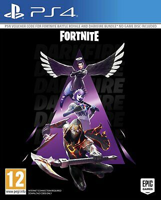 Fortnite Darkfire Bundle Sony Playstation PS4 Game