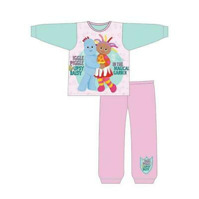 In the Night Garden Pyjamas Girls Pjs Upsy Daisy Iggle Piggle 12 Mths - 4 Years