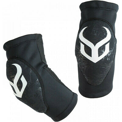 Demon Soft Cap Pro Unisex Body Armour Elbow Pads - Black All Sizes