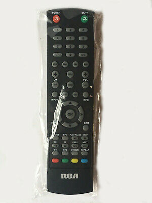 New TV Remote Control for RCA Technicolor TV RLED1945A-F R0032 RTU6549 RTU5540-C