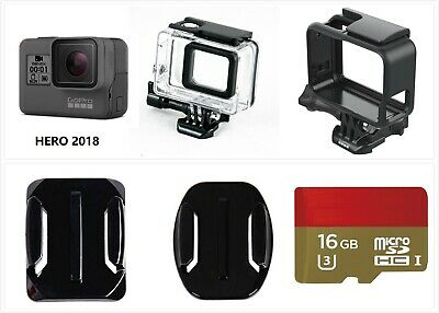 Refurbished GoPro HERO 2018 Waterproof Action HD Camera Camcorder Frame 16G card