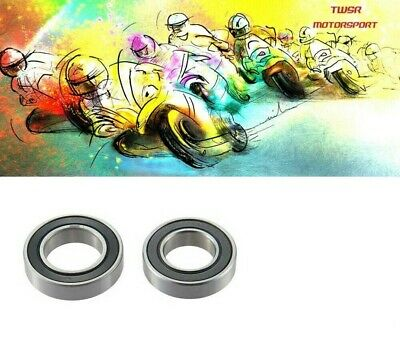 Front wheel bearings Yamaha DT125R  DTR125 DTR All Years Quality Double sealed
