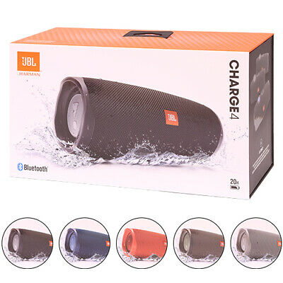 JBL Charge 4 Wireless Portable Bluetooth Waterproof Stereo Speaker All Colors
