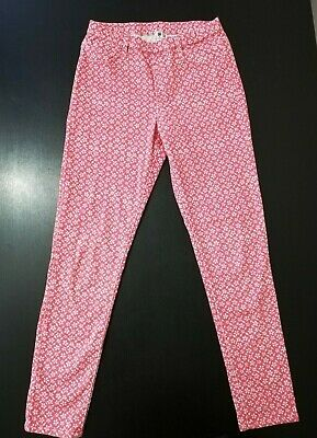 Uniqlo Kids Girls Floral Trousers/Pants Size 7-8 Years Pre-owned