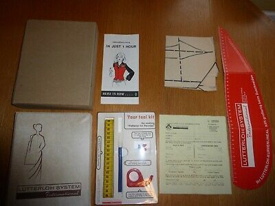 Lutterloh System The Golden Rule 1977 Vintage Boxed/Complete Unused Lovely