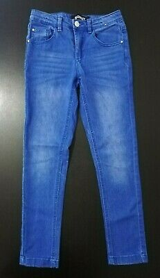 Girls Denim Light Blue Skinny Jeans Age 9 Years From Peacocks Pre-owned