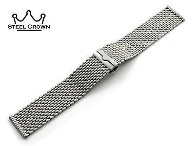22mm For Emporio Armani Watch Stainless Steel Bracelet Strap Band Silver