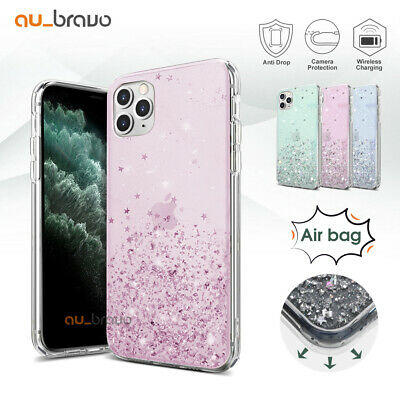 Glitter Shockproof Slim Case Cover Luxury for Apple iPhone 11 Pro Max XS XR 8 7