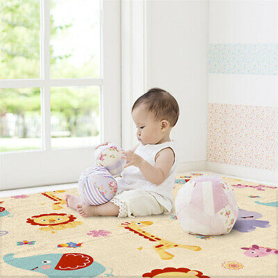 200x180CM Double Sided Non-Slip Baby Carpet Game Mat Pad Crawling Baby Blanket