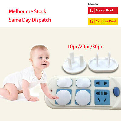 10/20/30 Baby Safety Power Outlet Cover 3-pin Protective Socket Power Board Cap