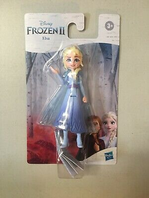 "DISNEY FROZEN 2 * ELSA * 4"" Doll with Removable Cape II Olaf Bruni Anna NEW"