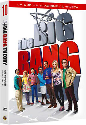 1897561 535278 Dvd Big Bang Theory (The) - Stagione 10 (3 Dvd)