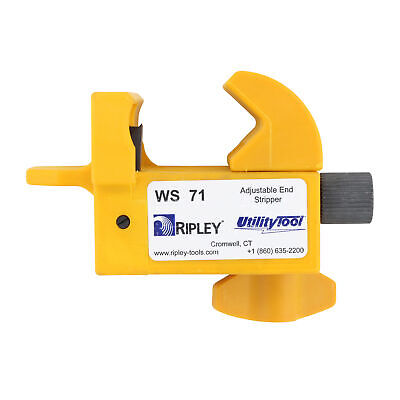 Ripley Ws71 Utilitytool Adjustable 600V Secondary Cable End Strippers
