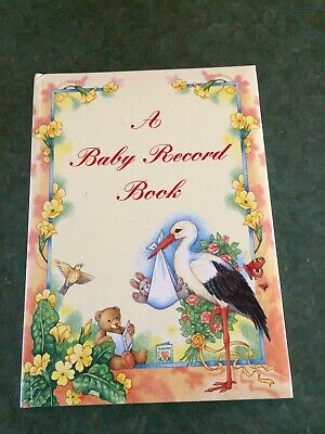 A Baby Record Book Keepsake Album