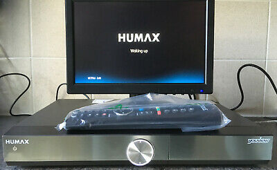 Humax DTR-T2000 500GB YouView+ HD HDMI Smart Digital TV Recorder Boxed.