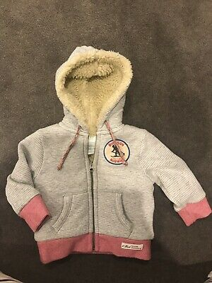 Country Road Hoodie 3-6 Months. Pre Owned Condition, Very Warm With Wooly Lining