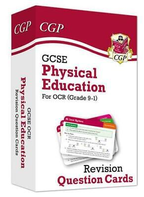 New Grade 9-1 GCSE Physical Education OCR Revision Question Cards by CGP Book...