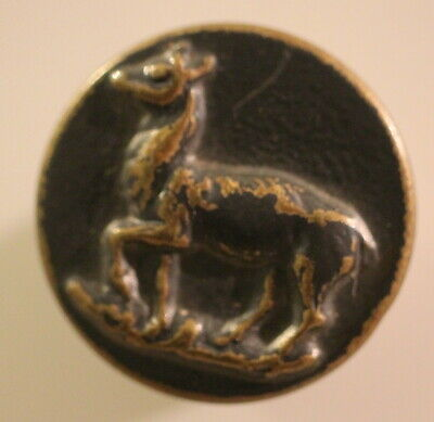 BOUTON  : CHASSE/VÉNERIE.   BICHE   24  mm   N°1104