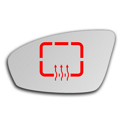 Left side for BMW M5 F10 2011-2016 heated wing door mirror glass