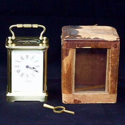 Brass Carriage Clock by J. Burn of Newbury