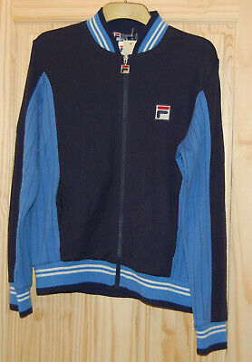 Fila matchday SETTANTA top Blue Navy vintage danny dyer the business Medium