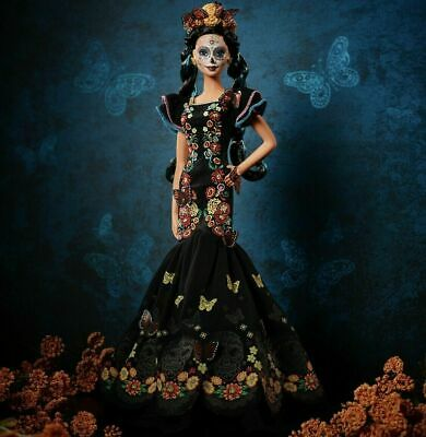 Barbie Dia De Los Muertos (Day of The Dead) Doll On Hand, READY TO SHIP!!