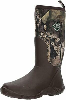 New Muck Boots Woody Blaze Cool Mossy Oak Mens 14 Boots Waterproof Free Ship
